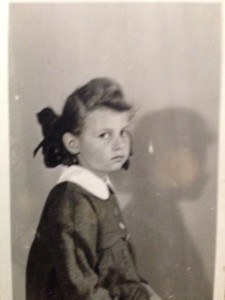 Joanna. Photograph taken just after she left the ghetto
